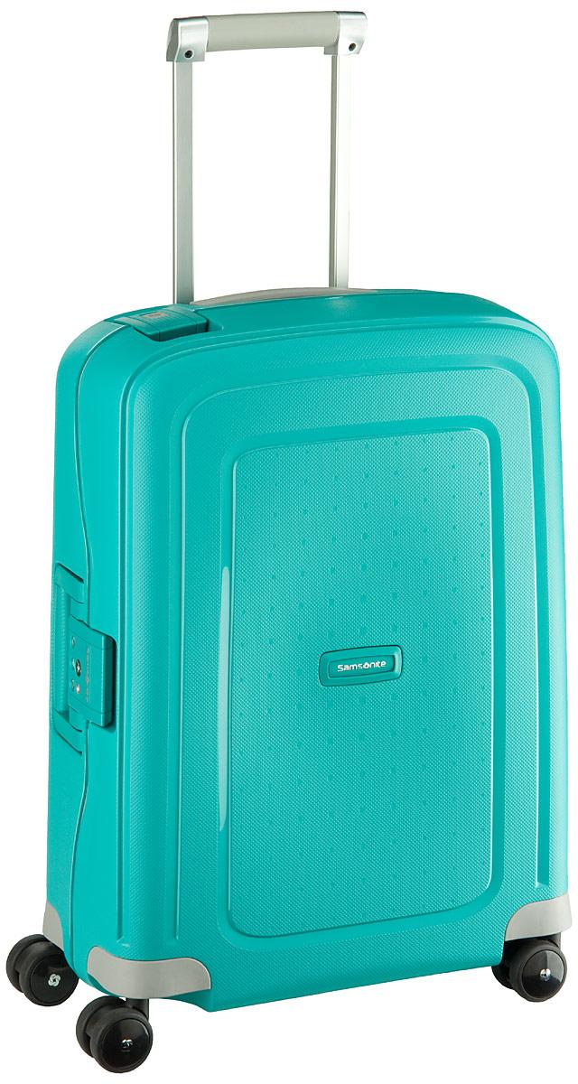 S'Cure Spinner Cabin Trolley Aqua Blue