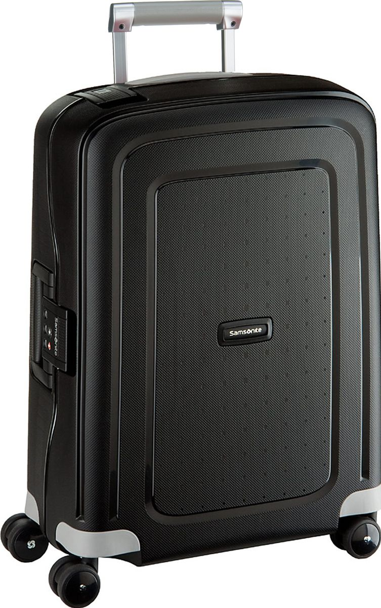 S'Cure Spinner Cabin Trolley Black