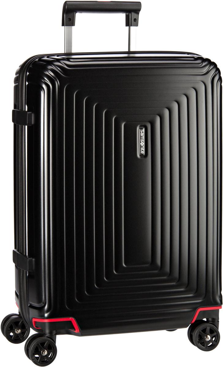 Reisegepaeck für Frauen - Samsonite Trolley Koffer Neopulse Spinner 55 20 Matte Black (38 Liter)  - Onlineshop Taschenkaufhaus