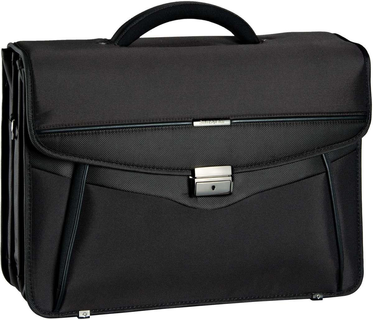 Desklite Briefcase 3 Gussets 15.6'' Black