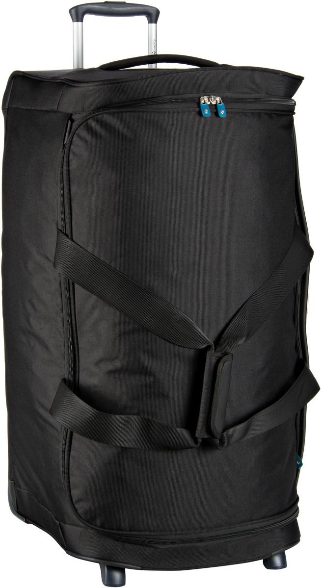 Reisegepaeck für Frauen - Samsonite Rollenreisetasche Dynamo Duffle 77 Black (128 Liter)  - Onlineshop Taschenkaufhaus