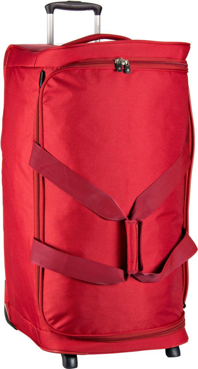 Reisegepaeck für Frauen - Samsonite Rollenreisetasche Dynamo Duffle 77 Red (128 Liter)  - Onlineshop Taschenkaufhaus