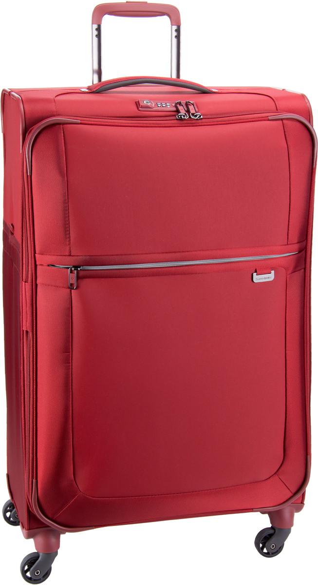 Samsonite Uplite Spinner 78 Red - Trolley + Koffer