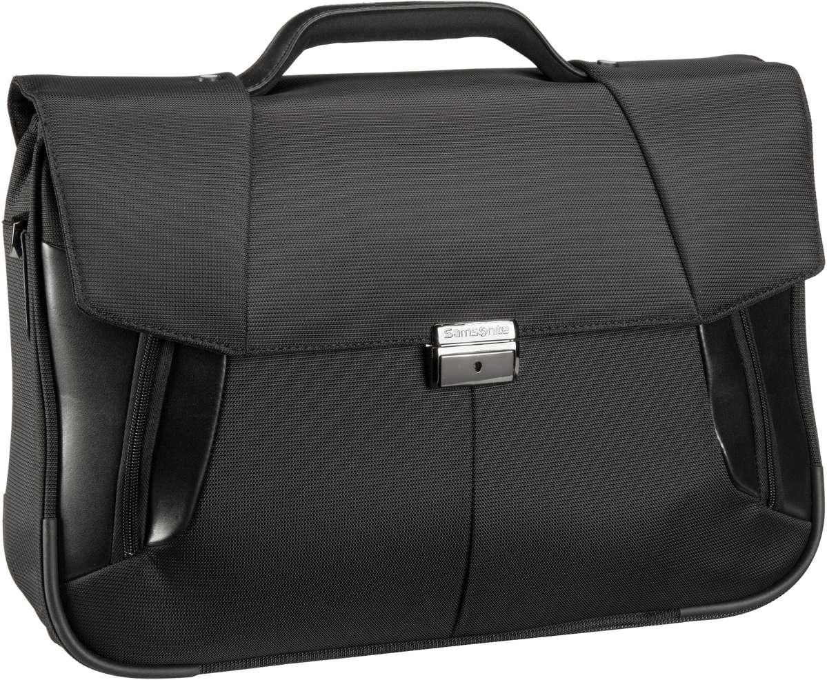 XBR Briefcase 2 Gussets 15.6'' Black