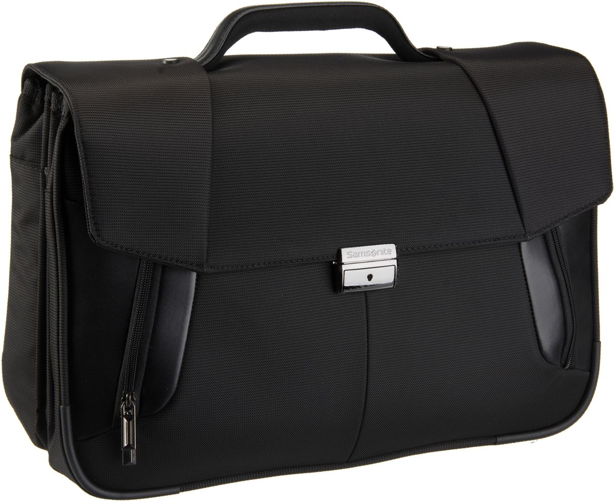 XBR Briefcase 3 Gussets 15.6'' Black