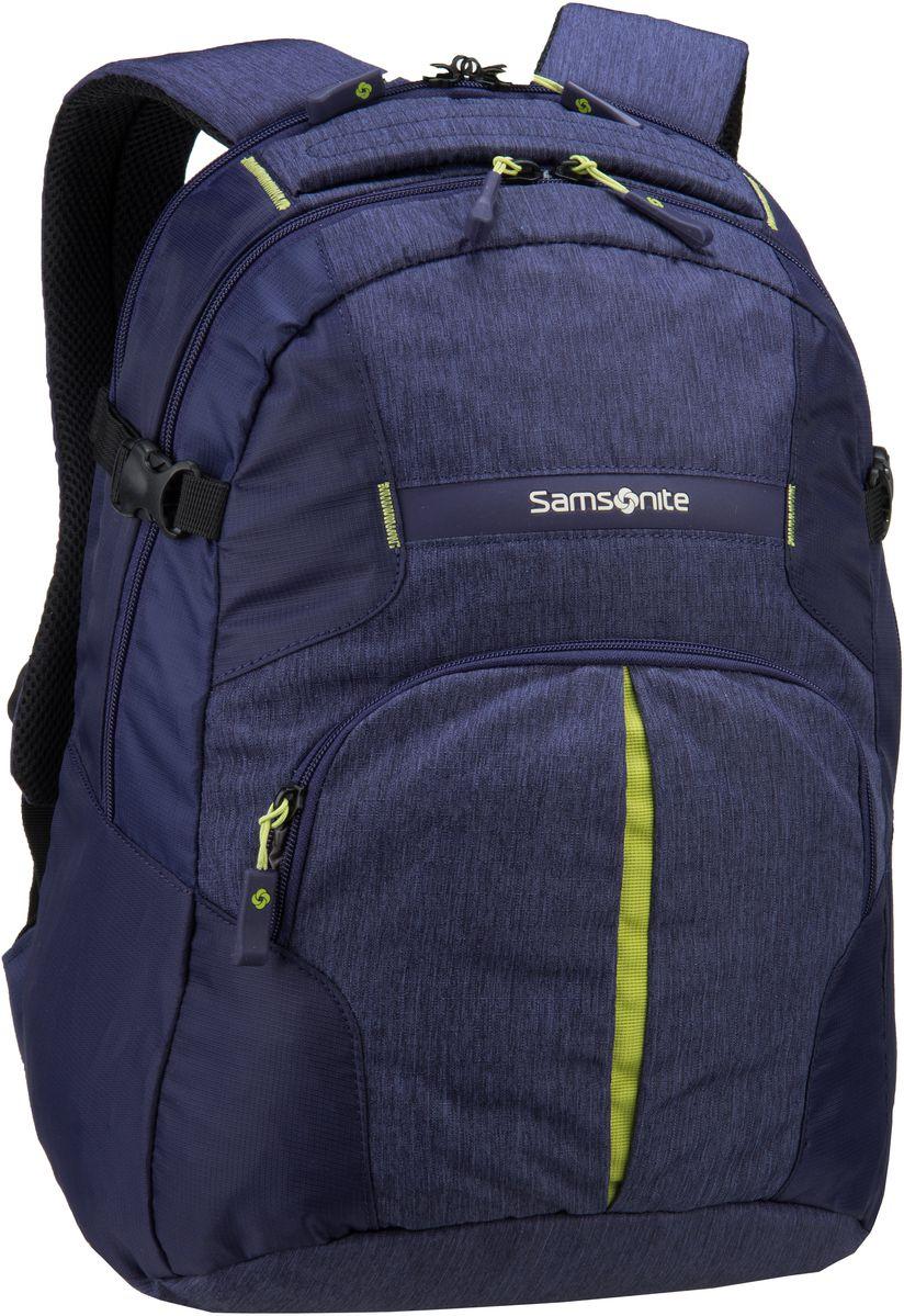 Samsonite Rewind Laptop Backpack M Dark Blue - ...