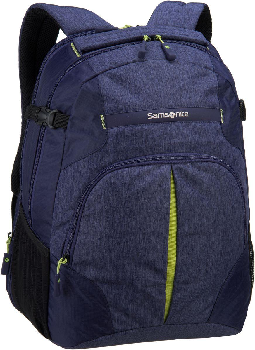 Samsonite Rewind Laptop Backpack L Dark Blue - ...