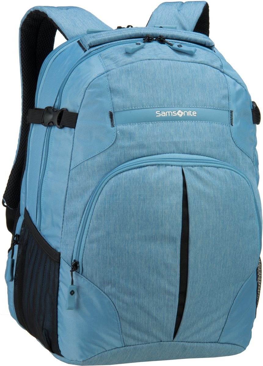 Samsonite Rewind Laptop Backpack L Ice Blue - L...