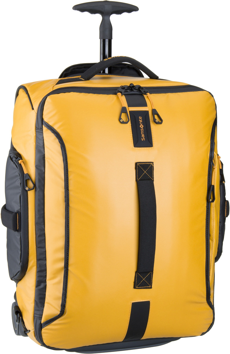 Paradiver Light Wheeled Backpack Duffle 55 Yellow