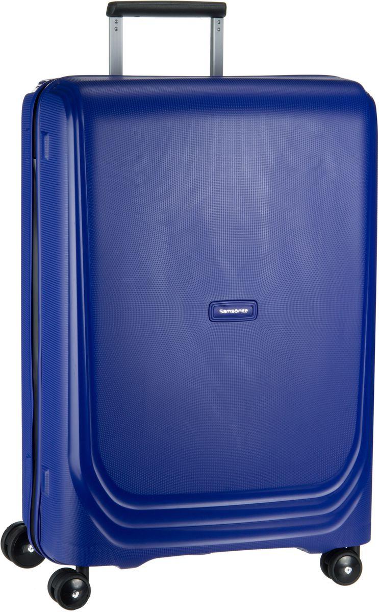 Samsonite Trolley + Koffer Optic Spinner 69 Royal Blue - Trolley mit 4 Rollen, Trolley + Koffer