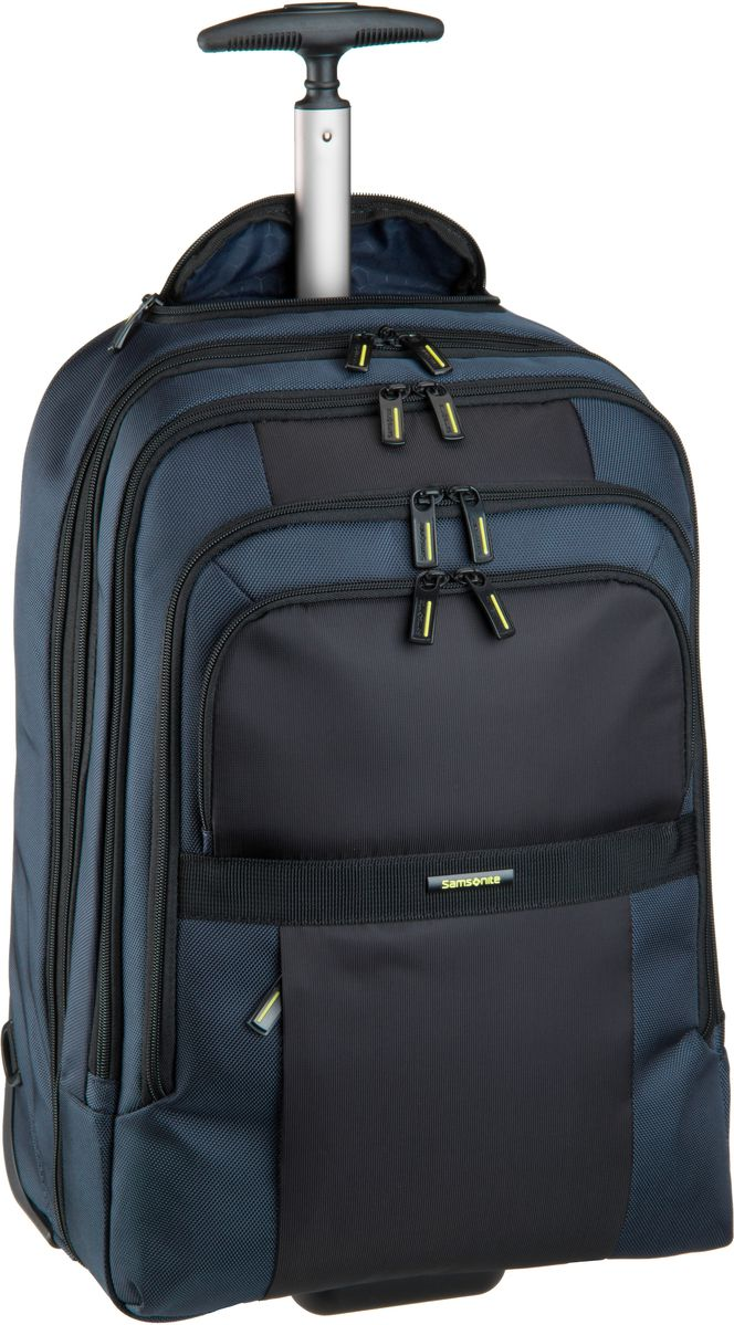 Rucksack-Trolley Infinipak Wheeled Laptop Backpack 17.3'' Blue/Black (27.5 Liter)
