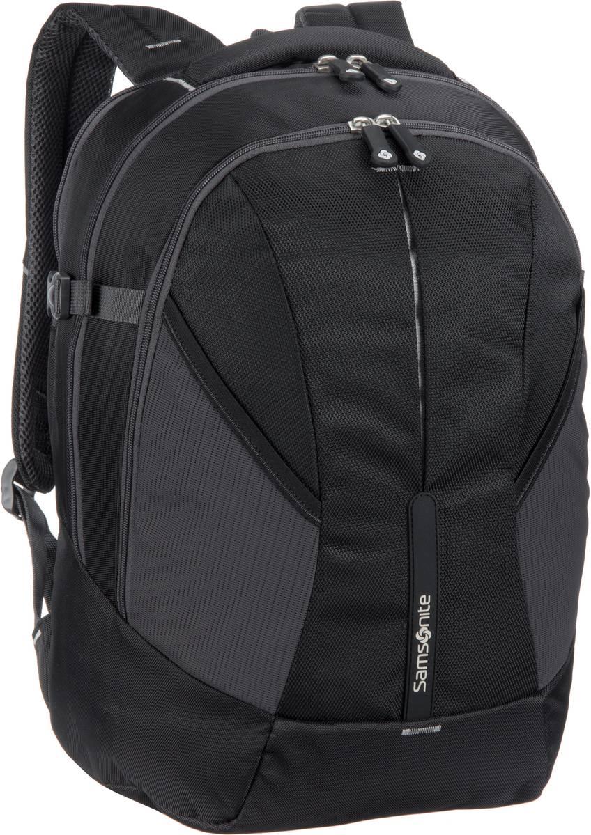 Laptoprucksack 4Mation Laptop Backpack M Black/Silver (27 Liter)