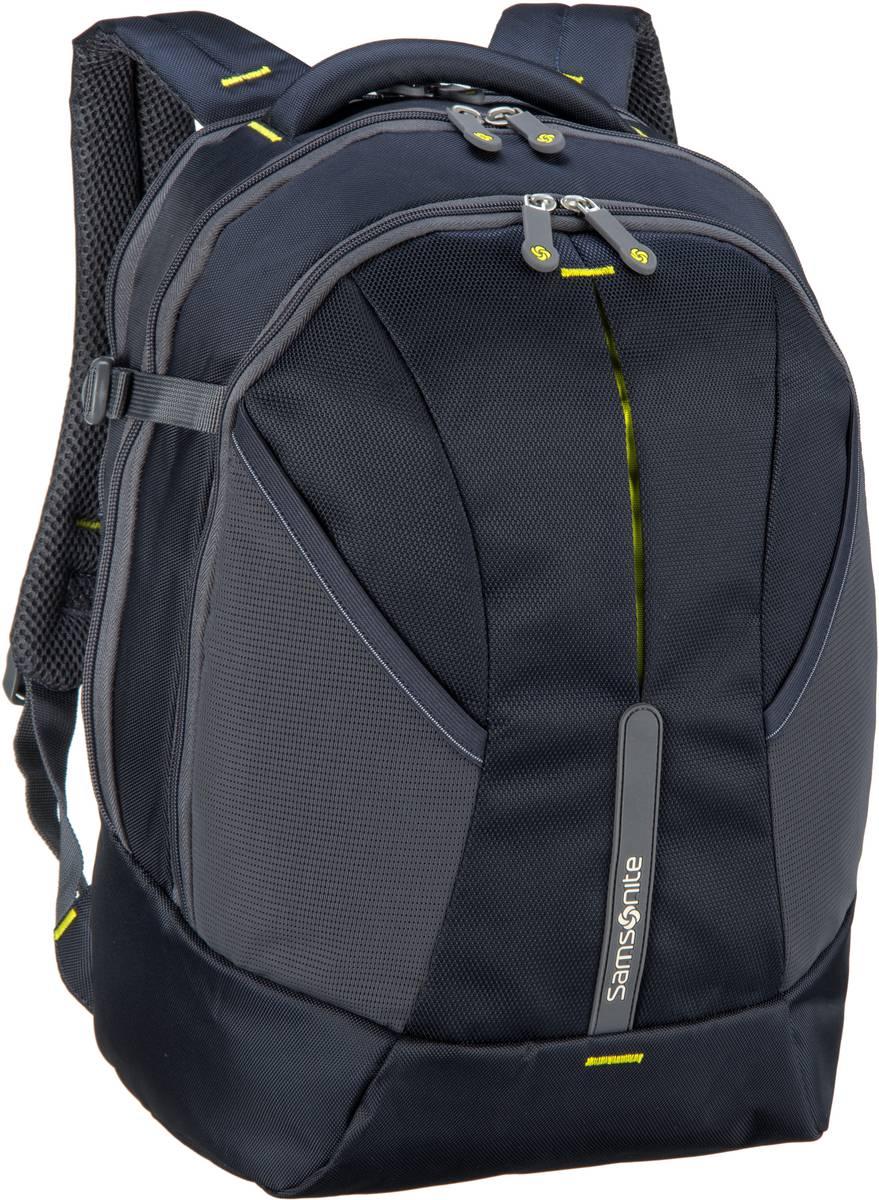 Laptoprucksack 4Mation Laptop Backpack M Midnight Blue/Yellow (27 Liter)