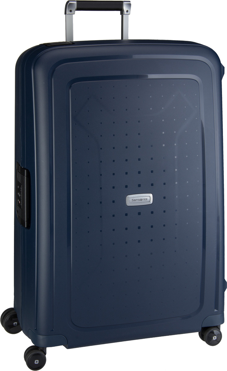 Samsonite Trolley + Koffer S´Cure DLX Spinner 75 Midnight Blue (102 Liter)