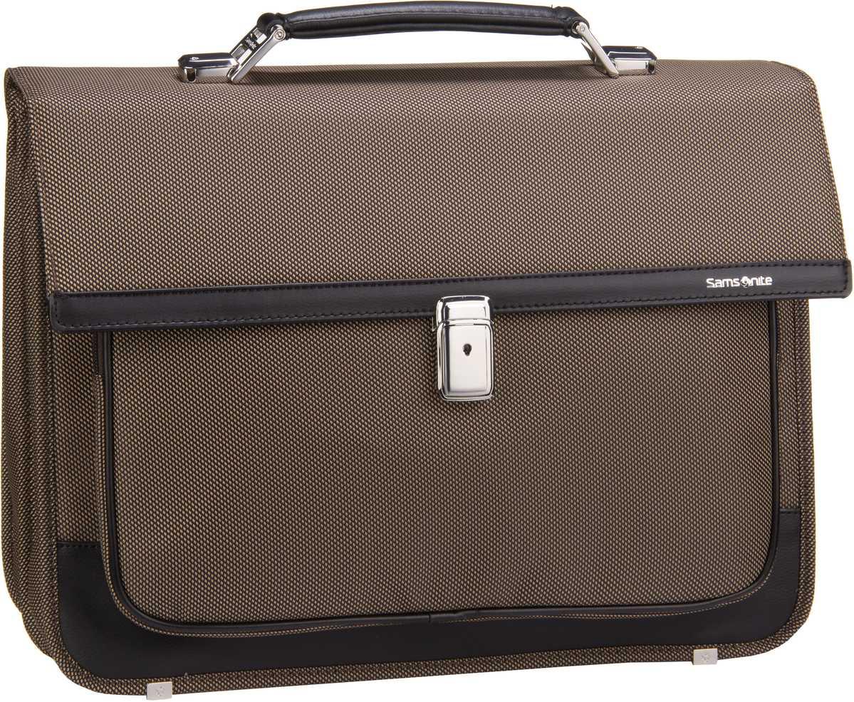 Fairbrook Briefcase 2 Gussets 15.6'' Bronze/Black