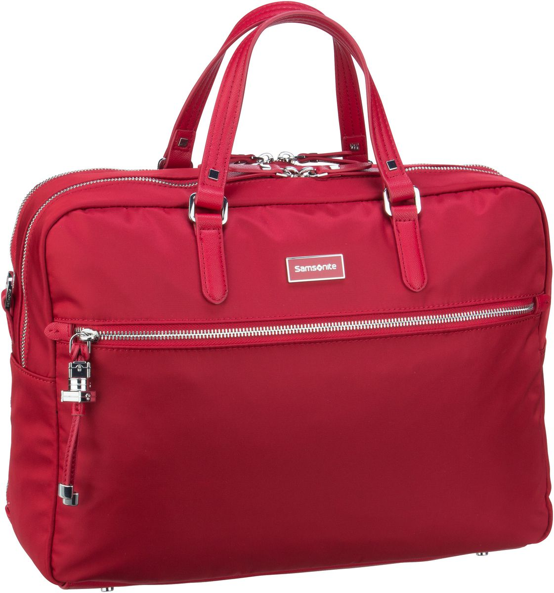 Samsonite Karissa Biz Bailhandle 15.6'' 2 Comp Formula Red Aktentasche
