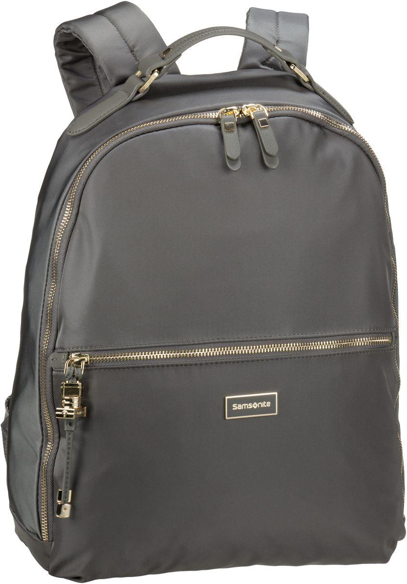 Laptoprucksack Karissa Biz Backpack 14.1'' Gunmetal Green (17.5 Liter)
