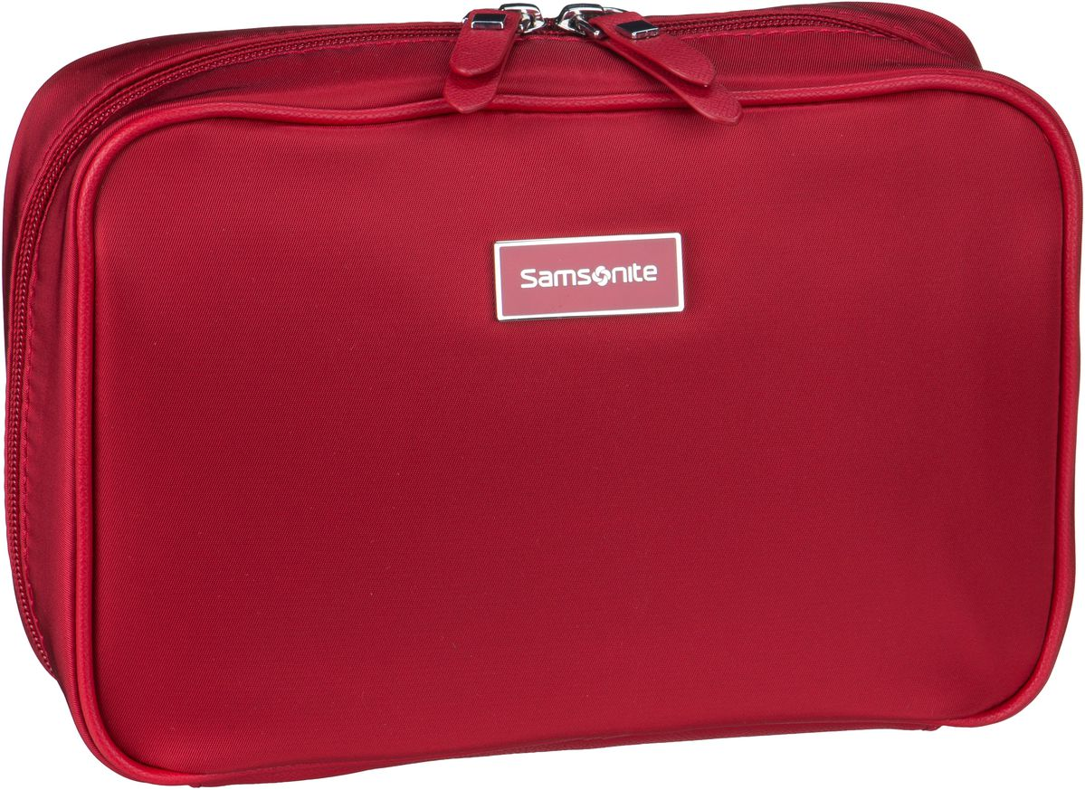 Samsonite Kulturbeutel / Beauty Case Karissa Cosmetic Weekender Formula Red