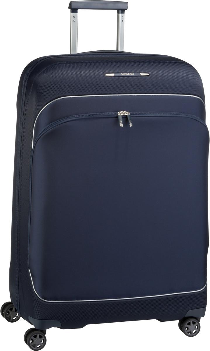 Reisegepaeck für Frauen - Samsonite Trolley Koffer Fuze Spinner 76 exp Blue Nights (95.5 Liter)  - Onlineshop Taschenkaufhaus