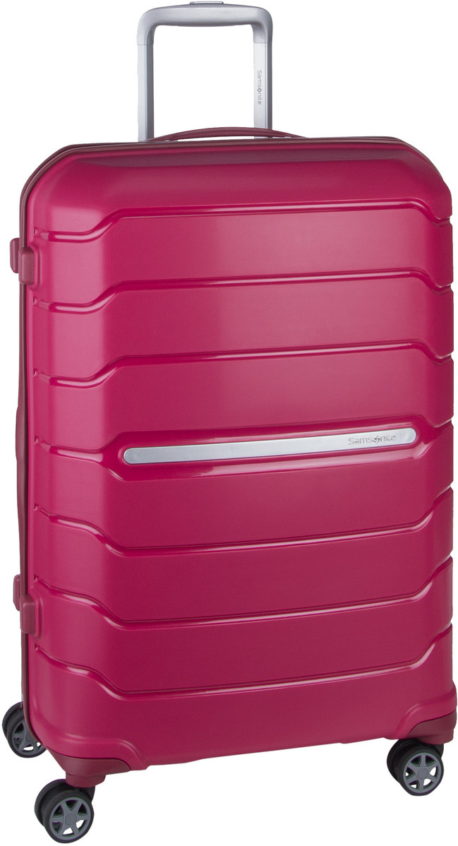 Samsonite Trolley + Koffer Flux Spinner 68 Expandable Granita Red (85 Liter)