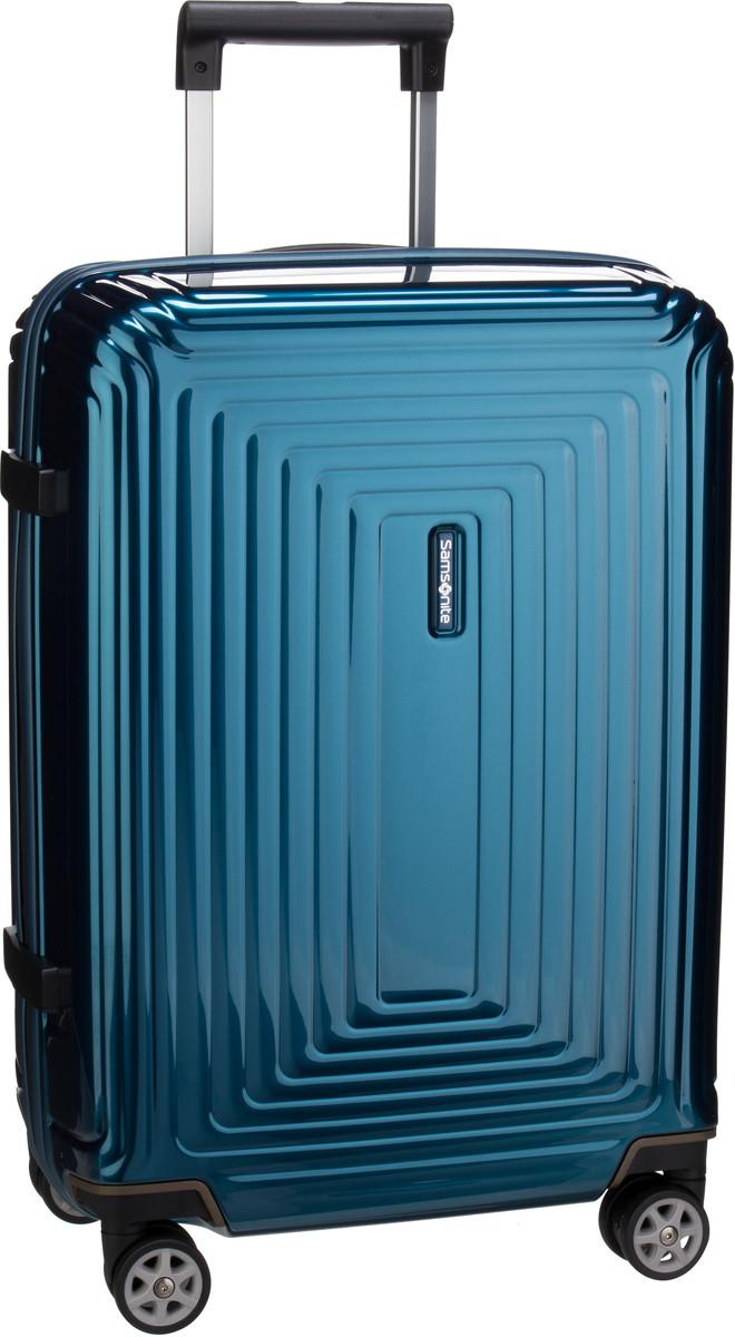 Samsonite Trolley + Koffer Neopulse Spinner 55/23 Metallic Blue (44 Liter)