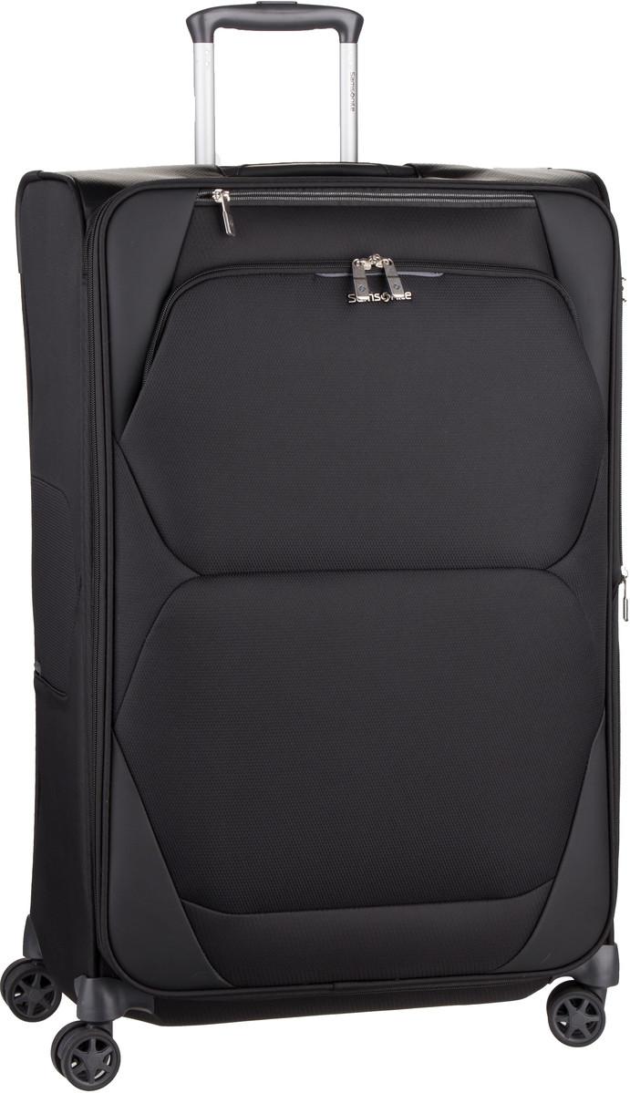 Reisegepaeck für Frauen - Samsonite Trolley Koffer Dynamore Spinner 78 exp Black (111 Liter)  - Onlineshop Taschenkaufhaus