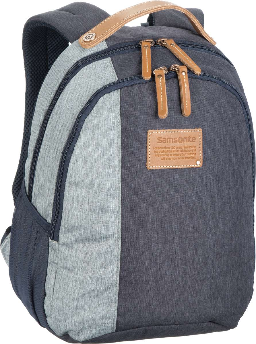 Samsonite Laptoprucksack Rewind Natural Backpack S River Blue (15 Liter)