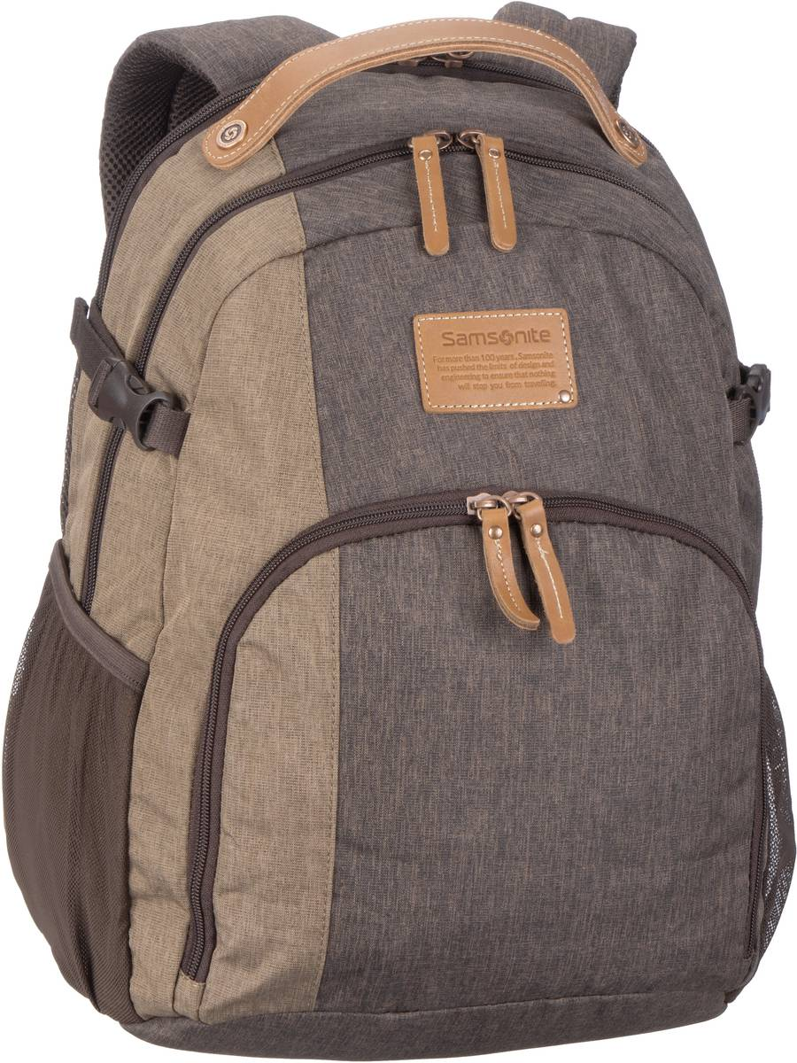 Laptoprucksack Rewind Natural Laptop Backpack M Rock (23 Liter)