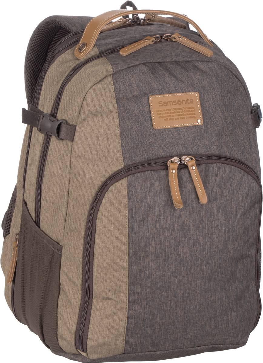 Laptoprucksack Rewind Natural Laptop Backpack L exp Rock (29 Liter)