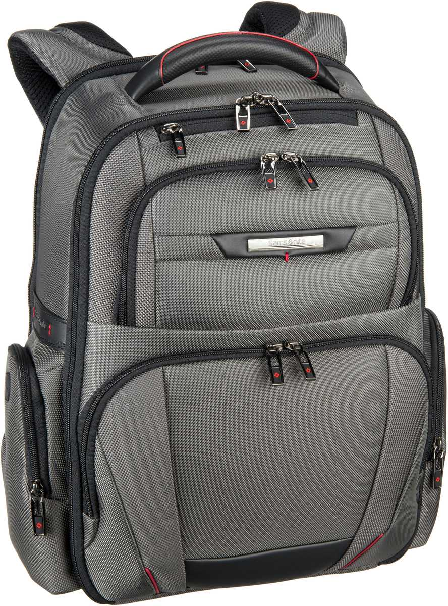 Laptoprucksack Pro-DLX 5 Laptop Backpack 3V 15.6'' Magnetic Grey (20 Liter)