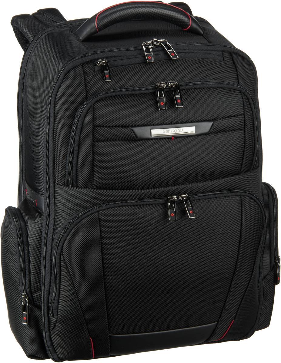 Laptoprucksack Pro-DLX 5 Laptop Backpack 3V 17.3'' exp Black (29 Liter)