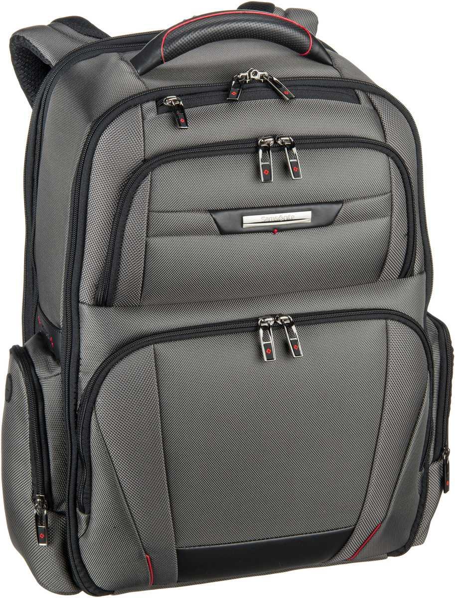 Laptoprucksack Pro-DLX 5 Laptop Backpack 3V 17.3'' exp Magnetic Grey (29 Liter)