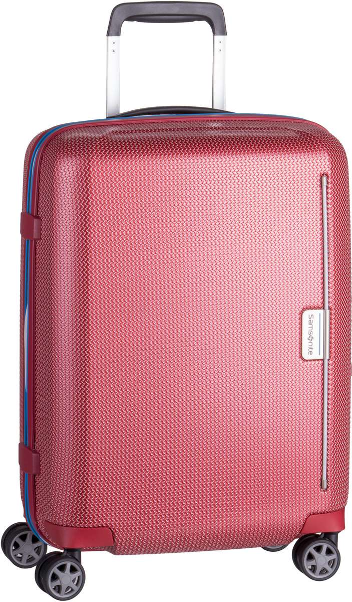 Samsonite Trolley + Koffer Mixmesh Spinner 55 Red/Pacific Blue (37 Liter)