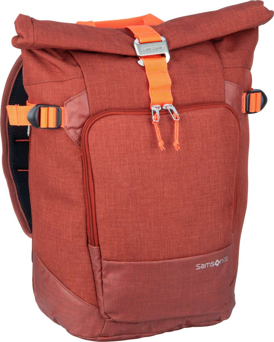 Samsonite Kurierrucksack Ziproll Laptop Backpack S Burnt Orange (19 Liter)
