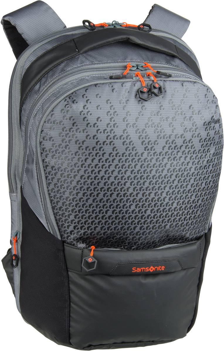 Rucksack / Daypack Hexa-Packs Laptop Backpack M Exp Work Grey Print (21 Liter)