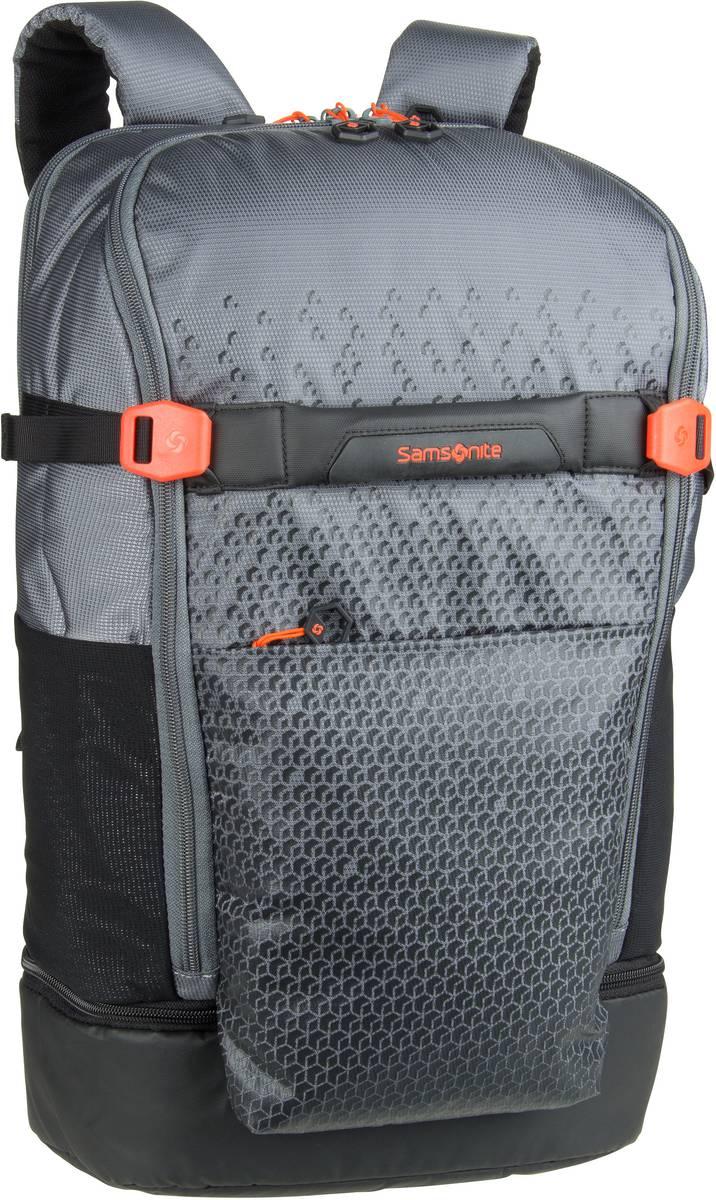 Rucksack / Daypack Hexa-Packs Laptop Backpack L Travel Grey Print (22 Liter)