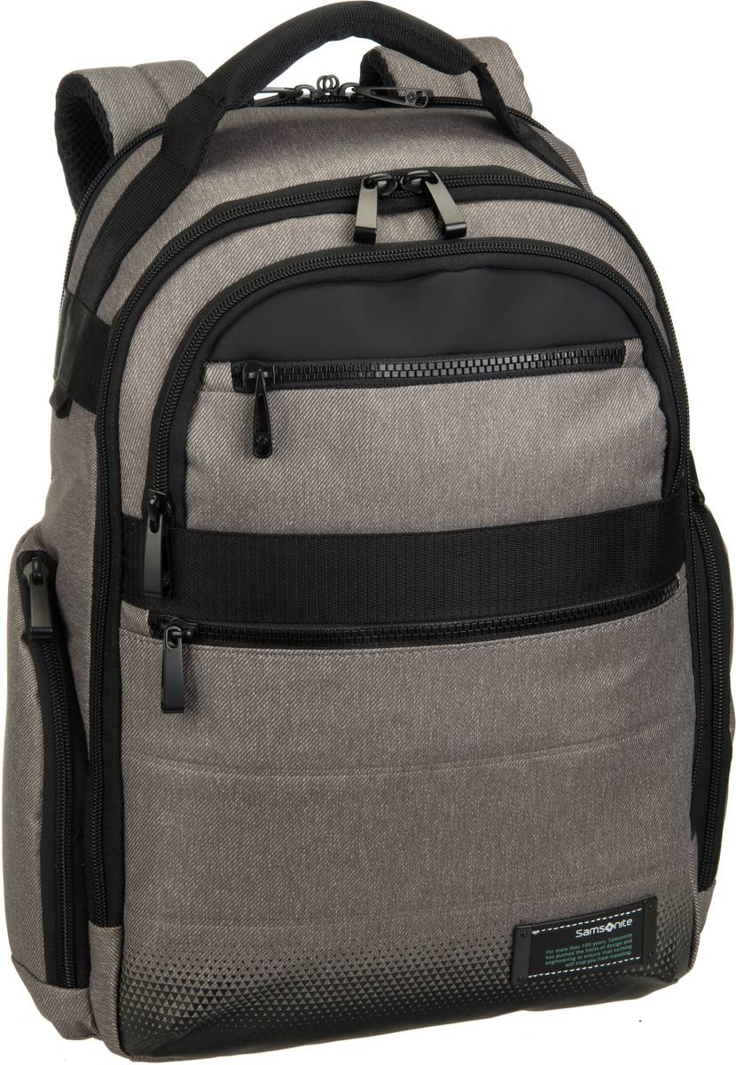 Samsonite Laptoprucksack Cityvibe 2.0 Laptop Backpack 14.1´´ Ash Grey (17.5 Liter)