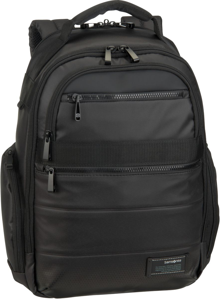 Samsonite Laptoprucksack Cityvibe 2.0 Laptop Backpack 14.1´´ Jet Black (17.5 Liter)