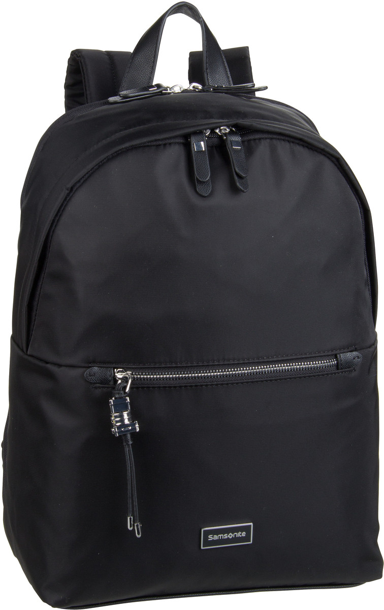 Rucksack / Daypack Kasrissa Biz Round Backpack 14.1'' Black (17.3 Liter)