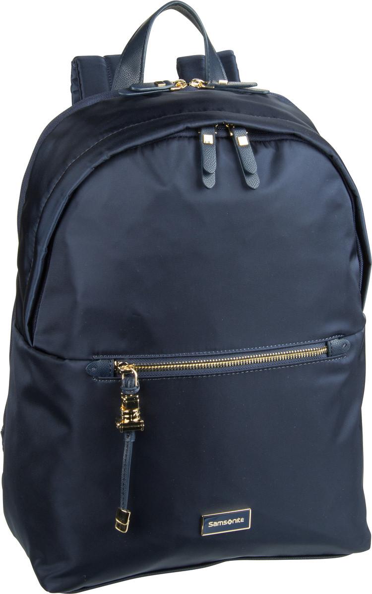 Rucksack / Daypack Kasrissa Biz Round Backpack 14.1'' Dark Navy (17.3 Liter)