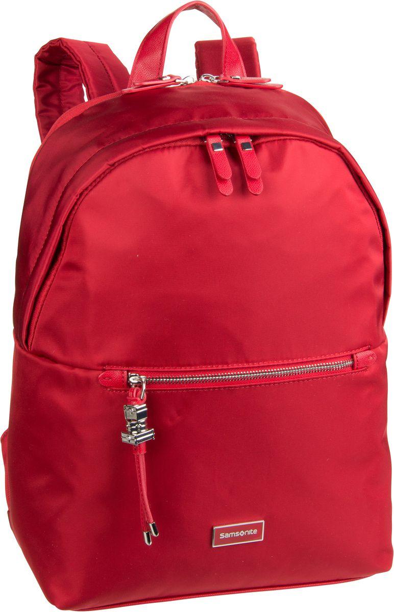 Rucksack / Daypack Kasrissa Biz Round Backpack 14.1'' Formula Red (17.3 Liter)
