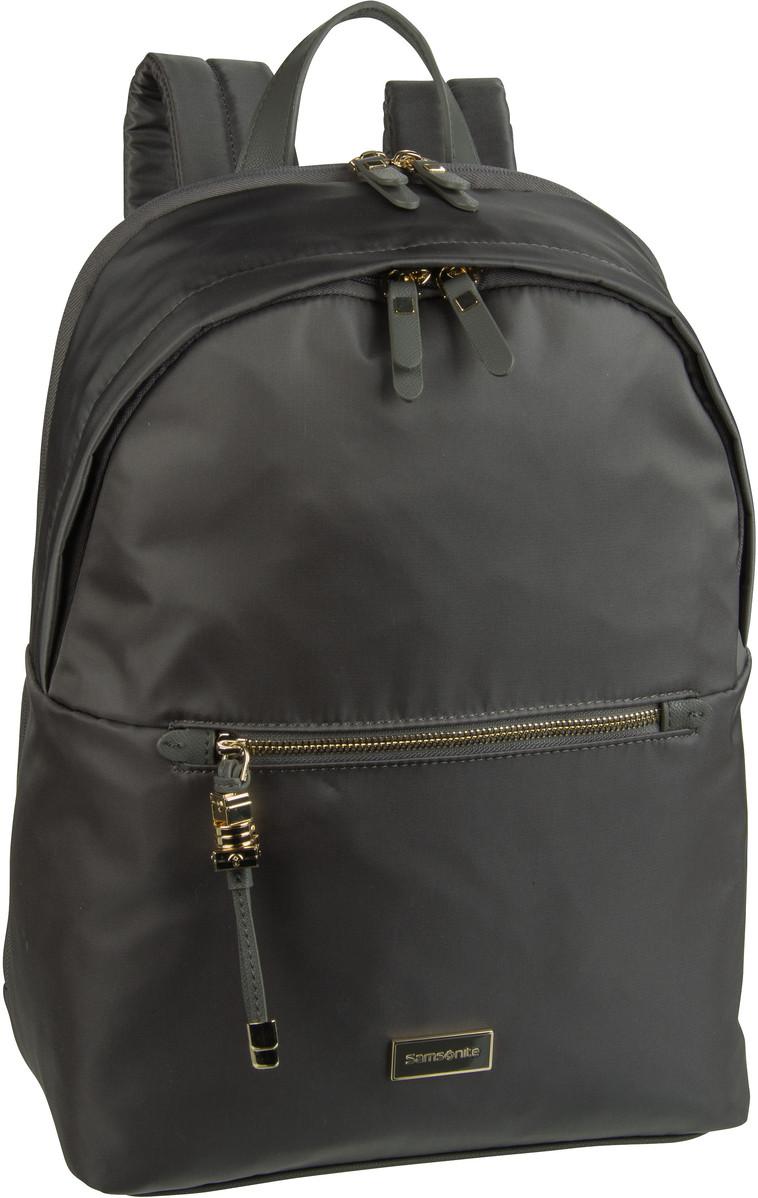 Rucksack / Daypack Kasrissa Biz Round Backpack 14.1'' Gunmetal Green (17.3 Liter)