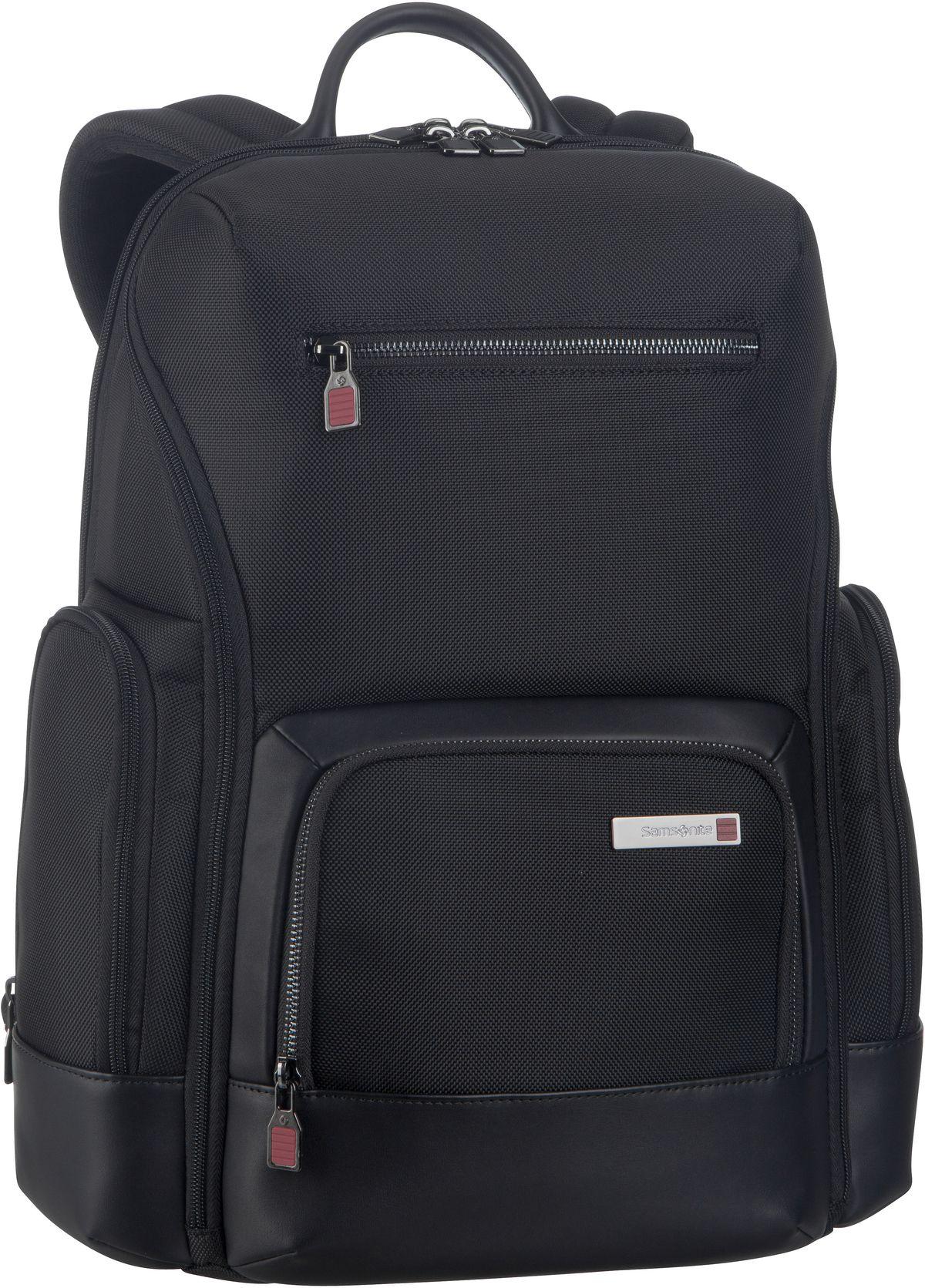 Rucksack / Daypack Safton LP Backpack 15.6'' Black (20 Liter)
