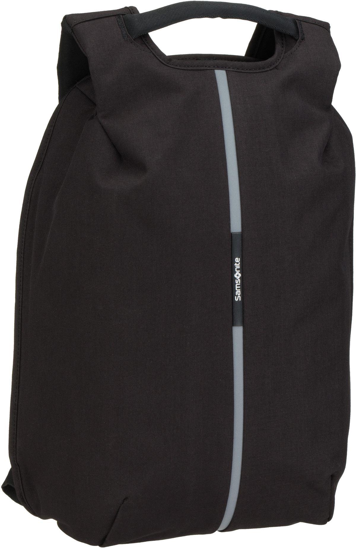 Rucksack / Daypack Securipak Laptop Backpack 15.6'' Black Steel (17 Liter)