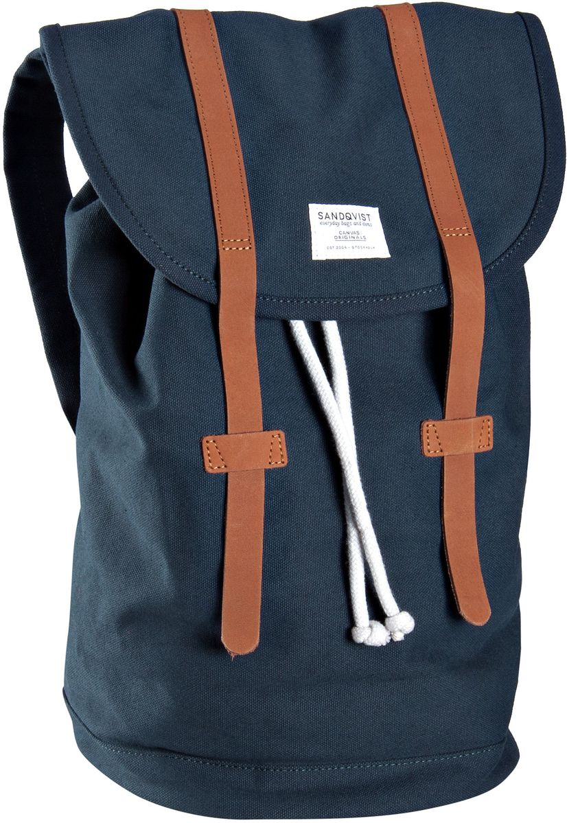 Laptoprucksack Stig Canvas Backpack Blue (14 Liter)