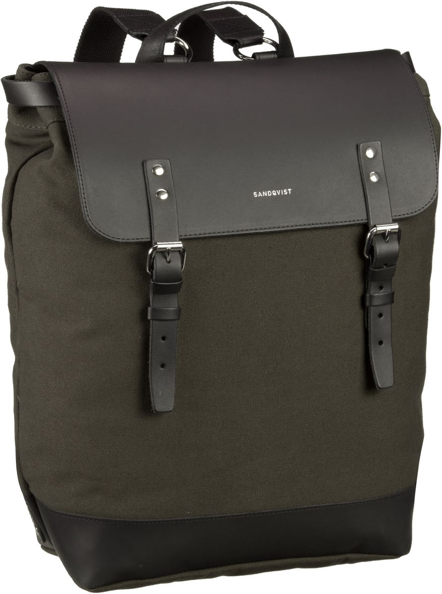 Laptoprucksack Hege Canvas Backpack Beluga (18 Liter)