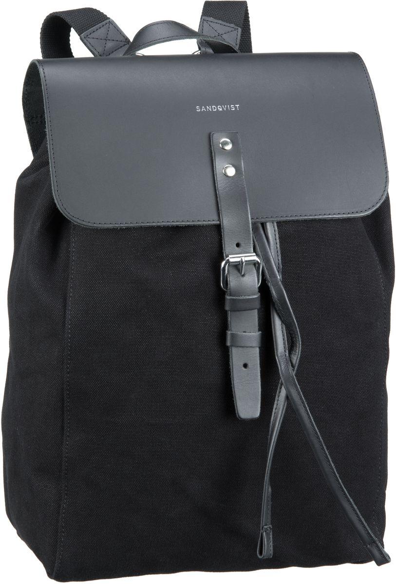 Laptoprucksack Alva Canvas Backpack Black (9 Liter)