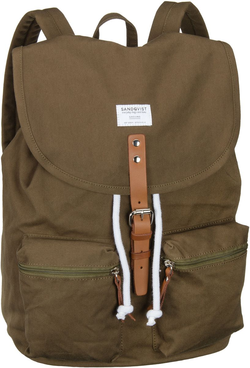Laptoprucksack Roald Backpack Olive (17 Liter)