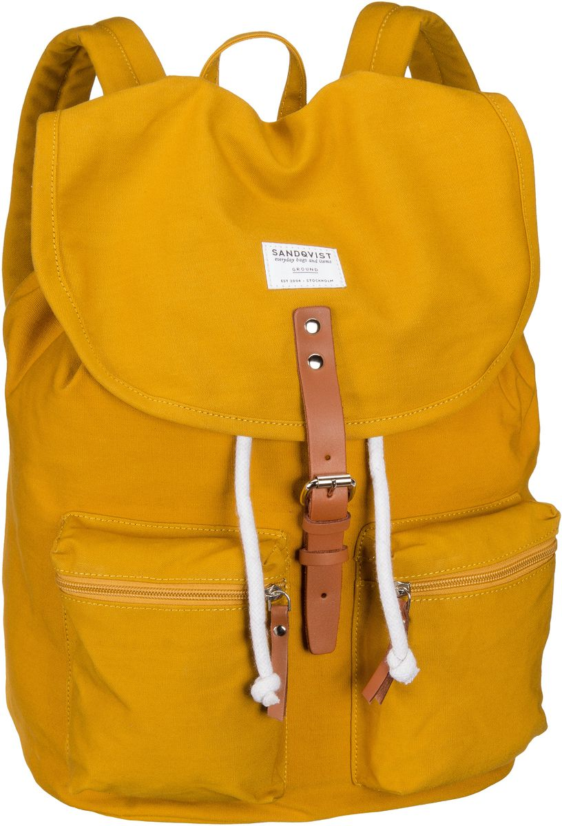 Laptoprucksack Roald Backpack Yellow (17 Liter)