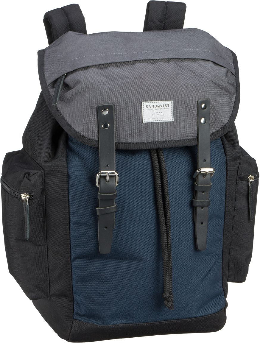 Sandqvist Lars-Göran Cordura Backpack Multi - Laptoprucksack